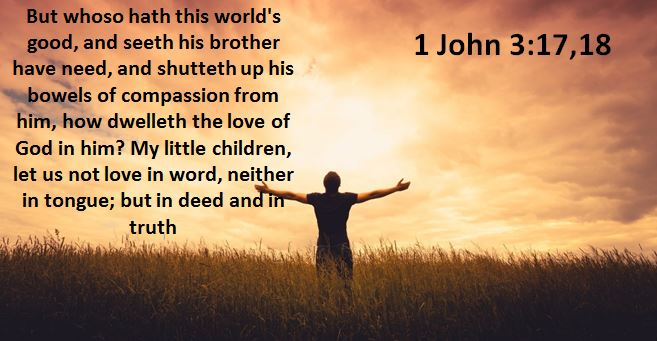 1 John 3 17.18